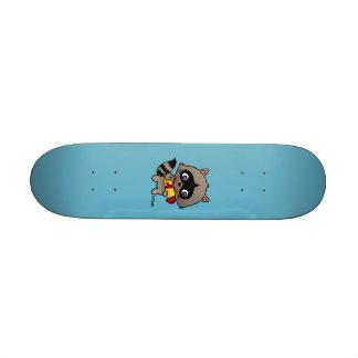 Enamored raccoon skateboard decks