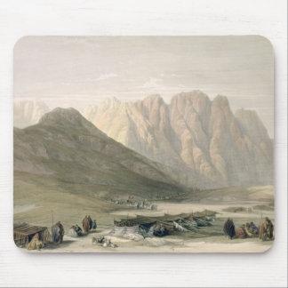 Encampment of the Aulad-Said, Mount Sinai, Februar Mouse Pad