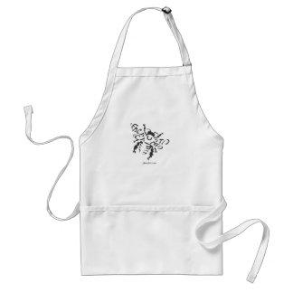 Encausticamp Bee apron