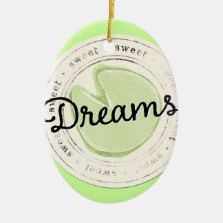 enchant-circle-dreams SWEET BEAUTY MOTIVATIONAL FA Ceramic Ornament