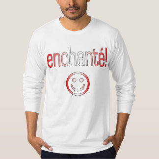 Enchanté! Canada Flag Colors T-Shirt