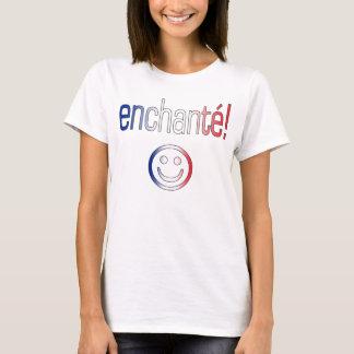 Enchanté! French Flag Colors T-Shirt