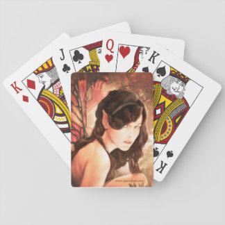 Enchanted Autumn Fairy Playing Cards