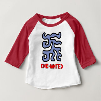 """Enchanted"" Baby 3/4 Raglan T-Shirt"
