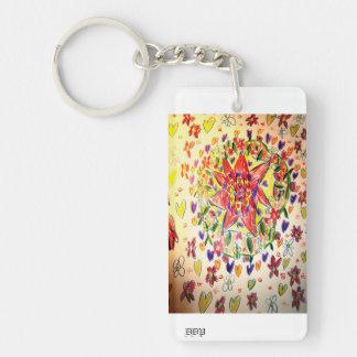 Enchanted Beautiful Keychain