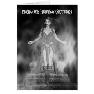 Enchanted Birthday Greetings Card