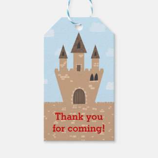 Enchanted Castle Pack Of Gift Tags