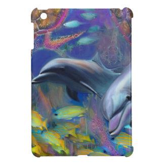 Enchanted Dolphins iPad Mini Cover