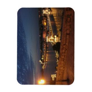Enchanted Evening in Budapest Rectangular Photo Magnet