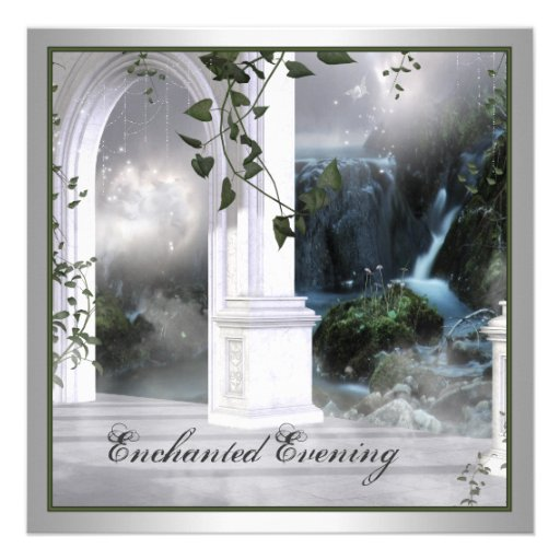 Enchanted Evening Prom Invitation Template