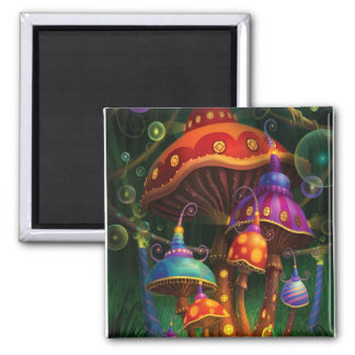 Enchanted Evening Square Magnet