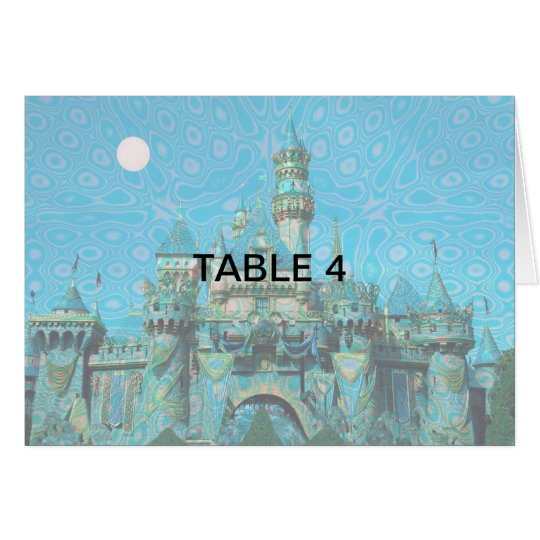 Enchanted Evening Table Card