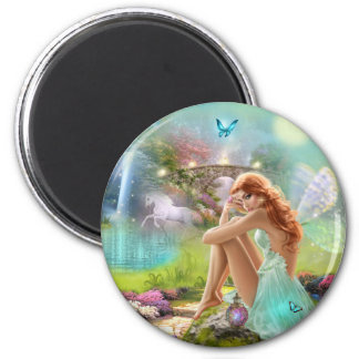 Enchanted Fairy Gardens Magnet