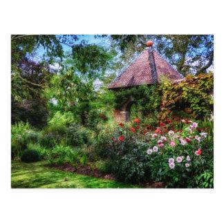 Enchanted Flower Garden Postcard