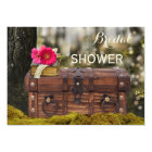 Enchanted Forest Garden Bridal Shower Invitation