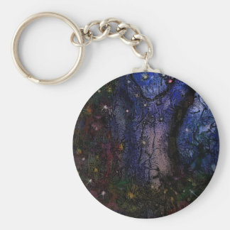 Enchanted Forest Keychain
