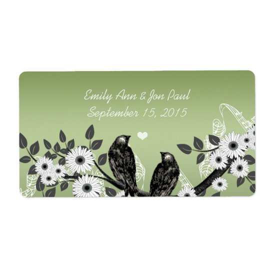 Enchanted Forest Love Bird Wedding