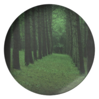 Enchanted Forest Plate