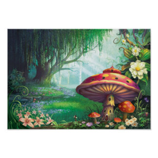 Enchanted Forest Poster
