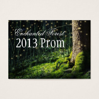 Enchanted Forest Prom Tickets - Invitations