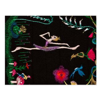 enchanted frog postcard