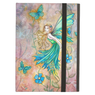 Enchanted Garden Flower Fairy Illustration Cover For iPad Air