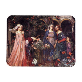 Enchanted Garden Rectangular Photo Magnet