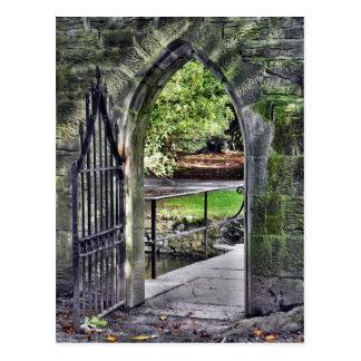 Enchanted Gate Postcard