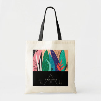 """Enchanted"" Japanese Art Inspired Budget Tote"