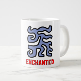 """Enchanted"" Jumbo Mug"