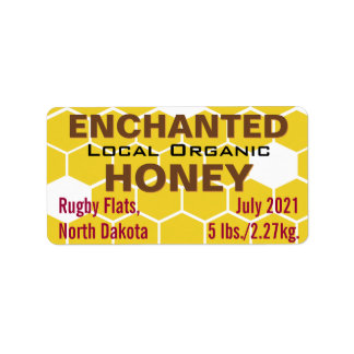 Enchanted Local Organic Honey Jar