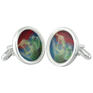 Enchanted Mermaid Cuff Links