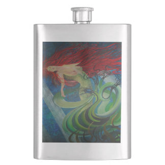 Enchanted Mermaid Hip Flask