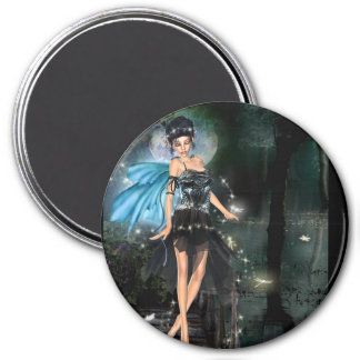 enchanted moment 3 inch round magnet
