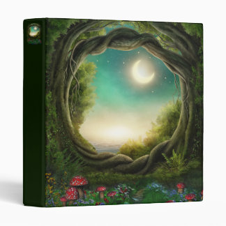 Enchanted Moon Tree Binder