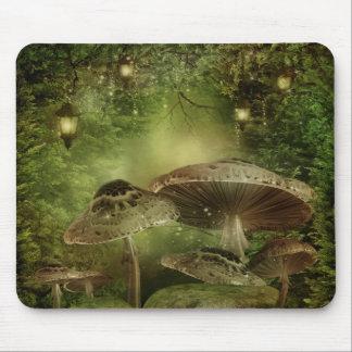Enchanted Mushrooms Mouse Pad