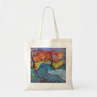 Enchanted Peacocks Tote Bag