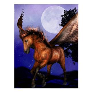 Enchanted Pegasus  Postcard