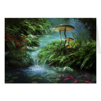Enchanted Pond Note Card