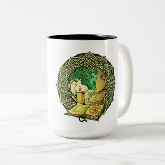Enchanted Stories Two-Tone Coffee Mug