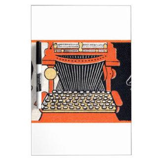 Enchanted Typewriter Dry Erase White Board