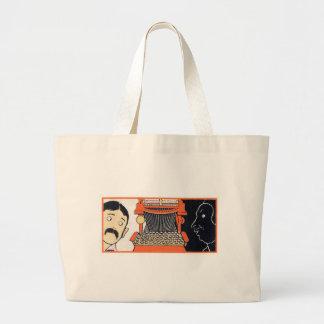 Enchanted Typewriter Large Tote Bag