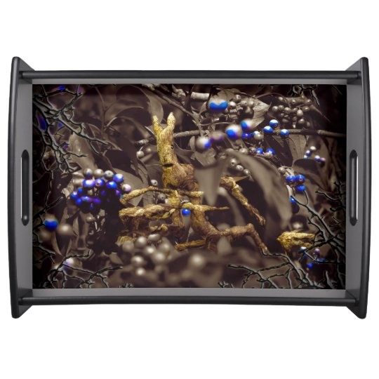 Enchanted Undergrowth Serving Tray