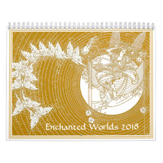 Enchanted Worlds Fairy Calendar 2018