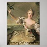 """Enchanting Beauty_1, Jean-Marc Nattier,""""Portrai... Poster"""