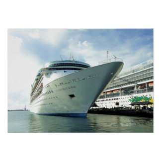 Enchanting Bow in Nassau Poster
