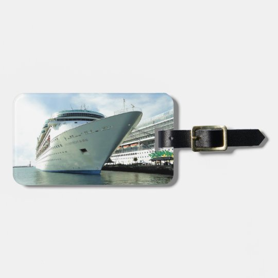 Enchanting Bow Personalized Luggage Tag