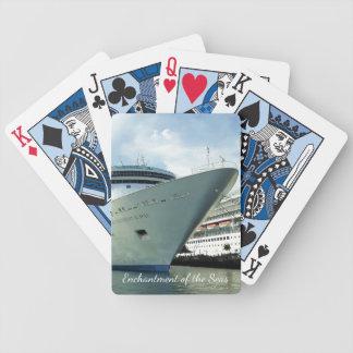Enchanting Bow Poker Deck