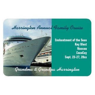 Enchanting Bow Stateroom Door Marker Magnet