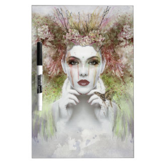 Enchanting Face Dry Erase Board